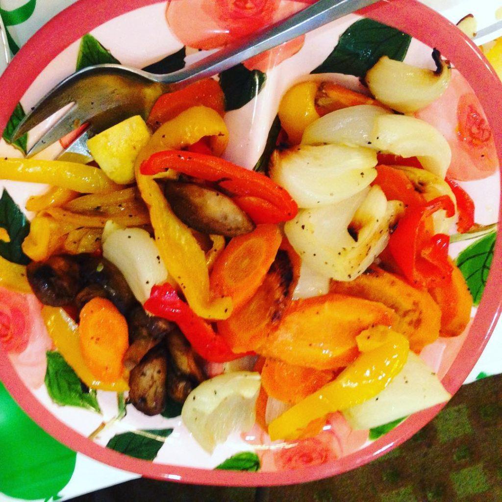 rosh hoshanah roasted vegetables
