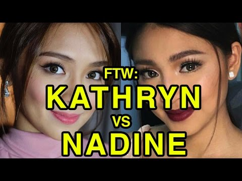 VIDEO: Kathryn Bernardo vs Nadine Lustre