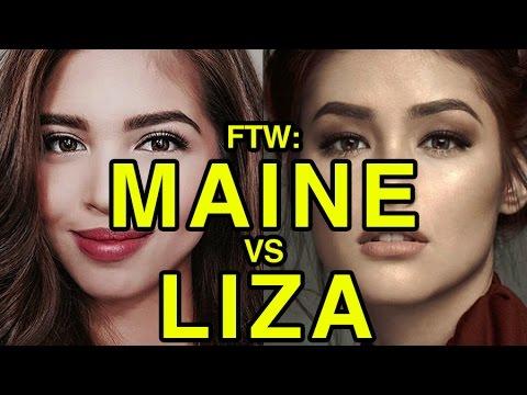 VIDEO: Maine Mendoza vs Liza Soberano