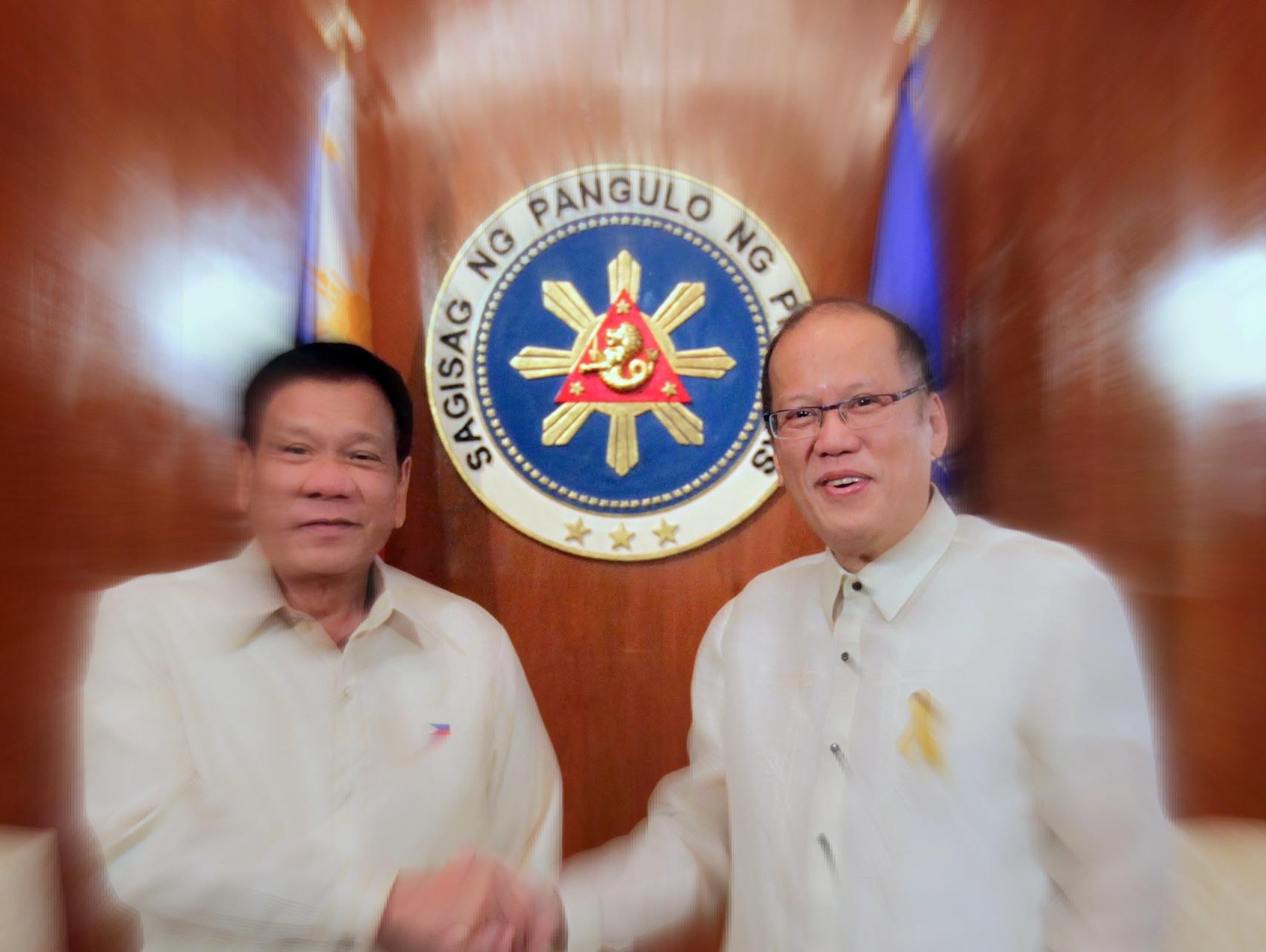 Noynoy Vs Duterte