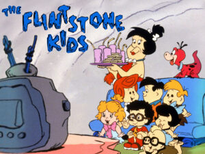 Millenial Cartoons - The Flinstone Kids