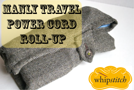 travel power cord roll up