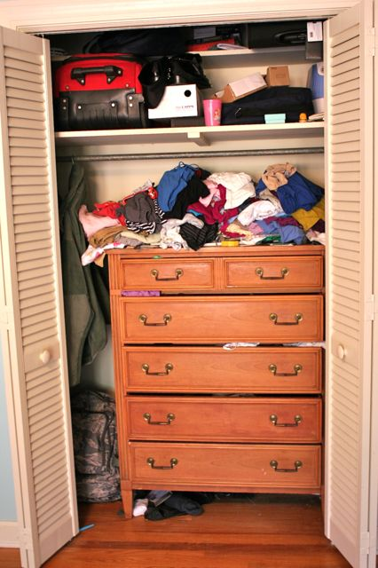 master closet small