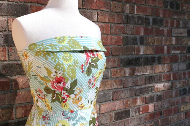 back to the future dress bodice stitch savvy