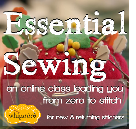 essential sewing button
