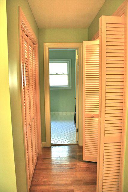 linen closet hall