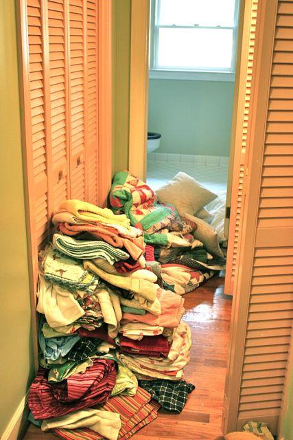 linen during