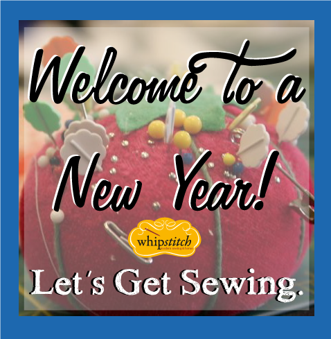 new year sewing