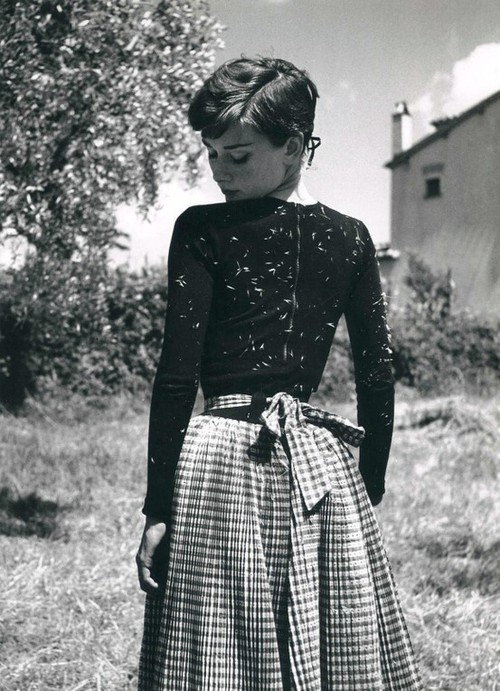 Audrey mixed fabrics