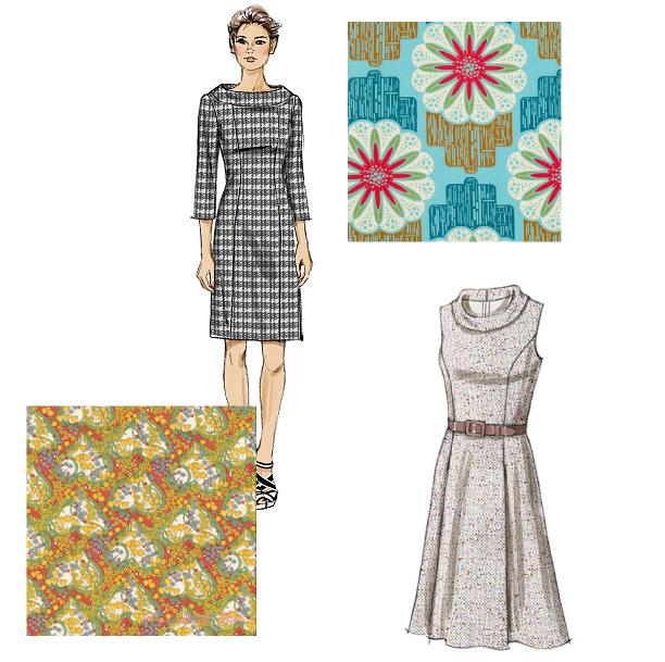 audrey cowl dress ideas