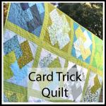 card trick quilt button