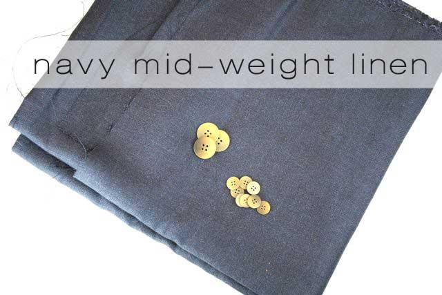 navy linen | mood