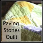 paving stones quilt button