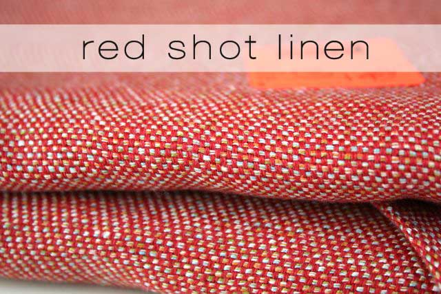 red linen detail | mood
