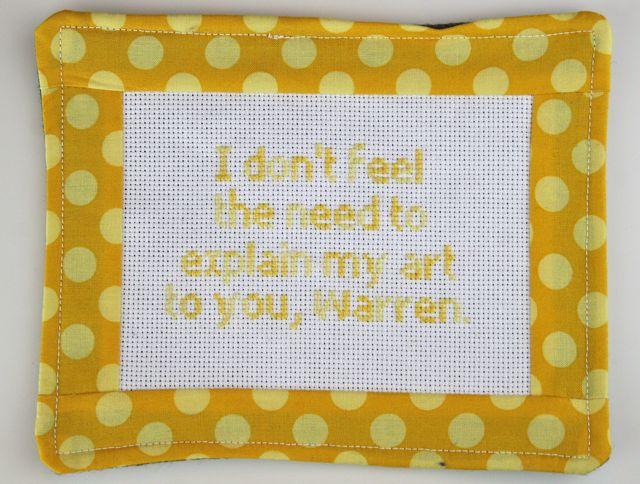 warren cross stitch