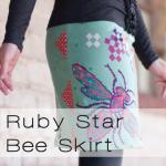 bee skirt button