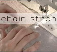 chain stitch button