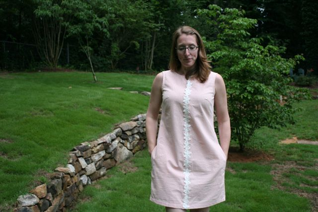 creamsicle laurel dress | whipstitch