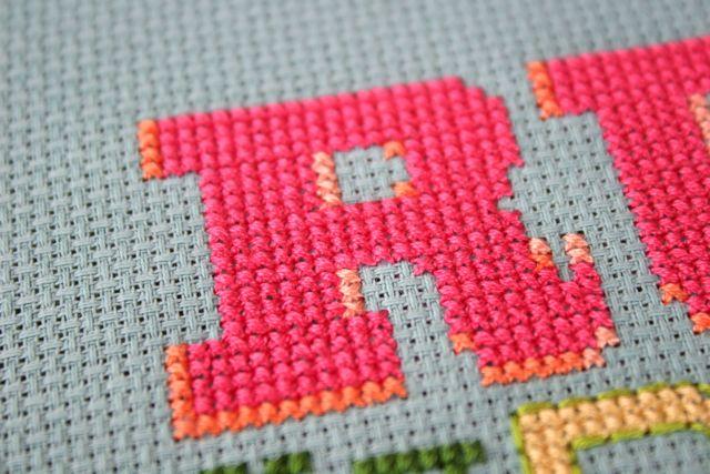 cross stitch detail | whipstitch