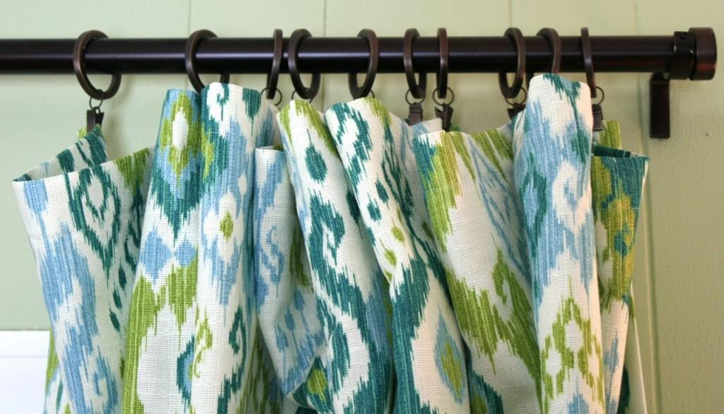 den curtain rod | whipstitch