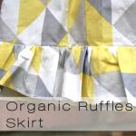 organic ruffles button