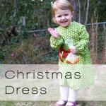 xmas dress button