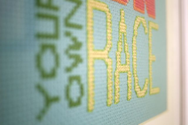 your own race | whipstitch