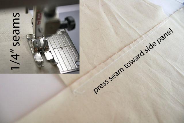 press seams