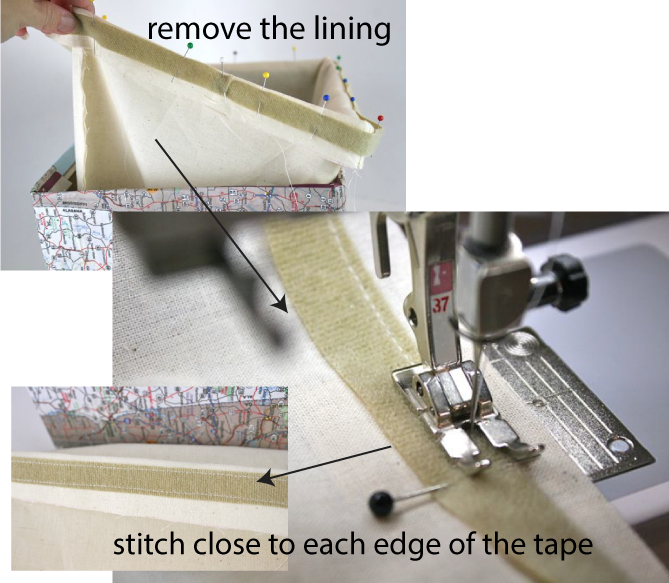 remove lining