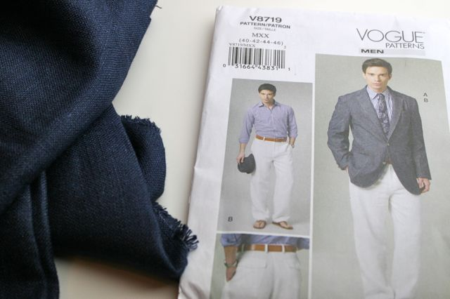 mens sport coat sewing pattern