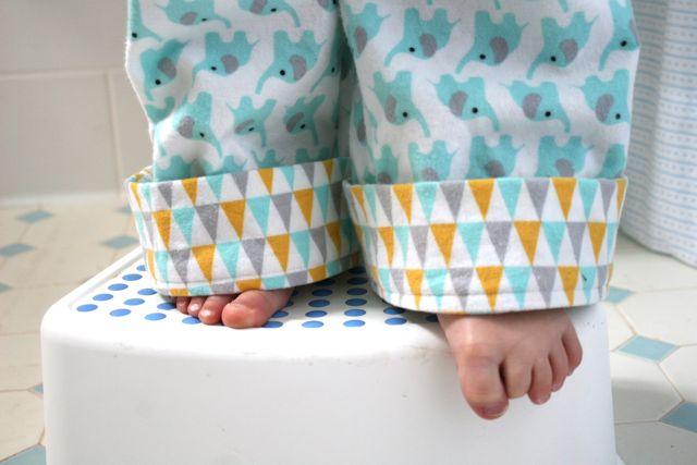 pennants in fanfare flannel