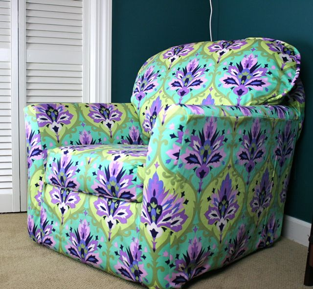 slip covered chair 3