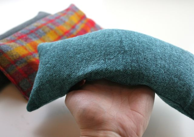 flannel hand warmer with rice