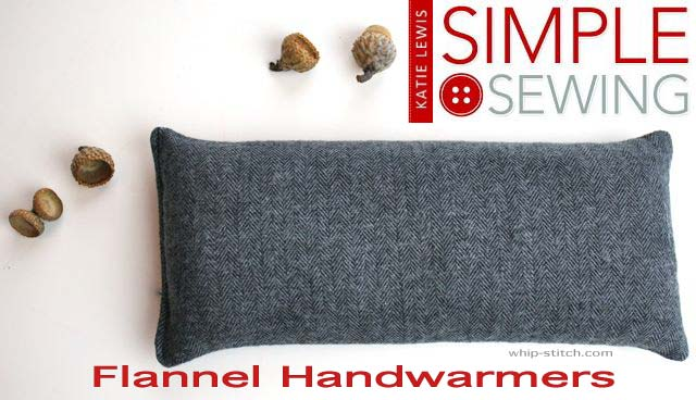 flannel hand warmers for fall