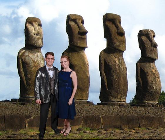 maori heads blue velvet