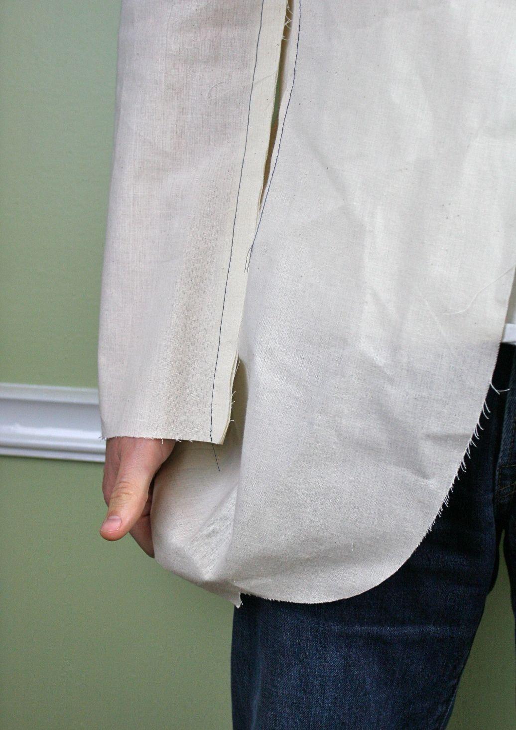 mens jacket check length