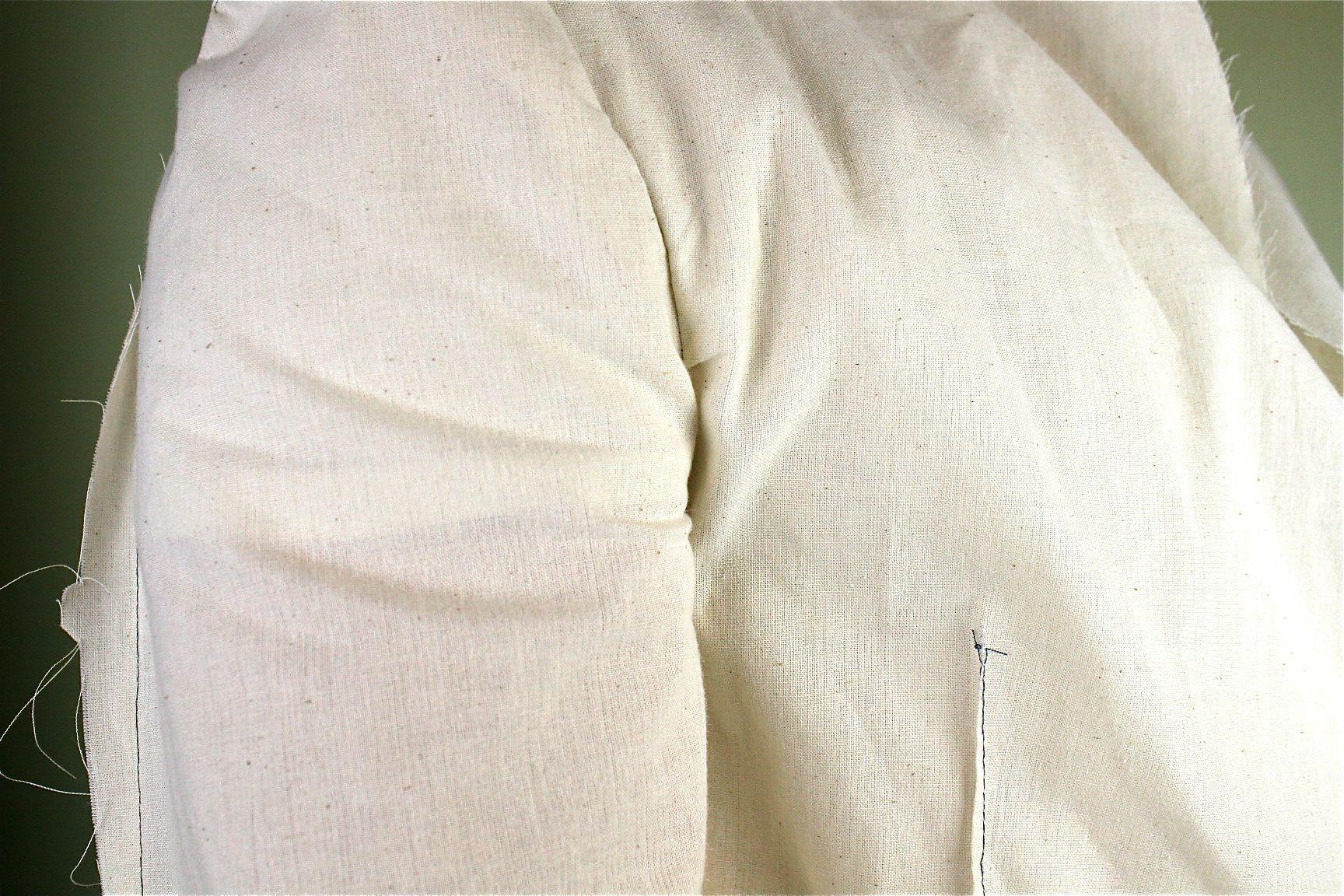 mens jacket front underarm