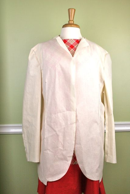 men's jacket front view