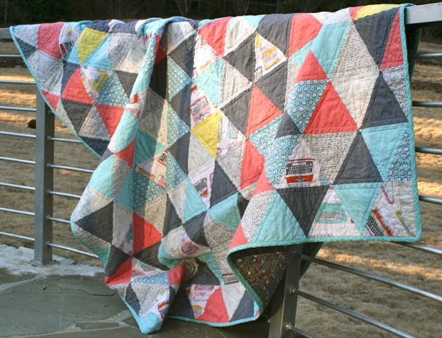Whipstitch | triangle quilt7