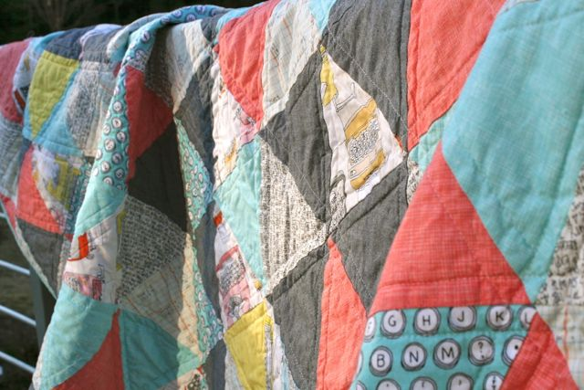 Whipstitch | triangle quilt8