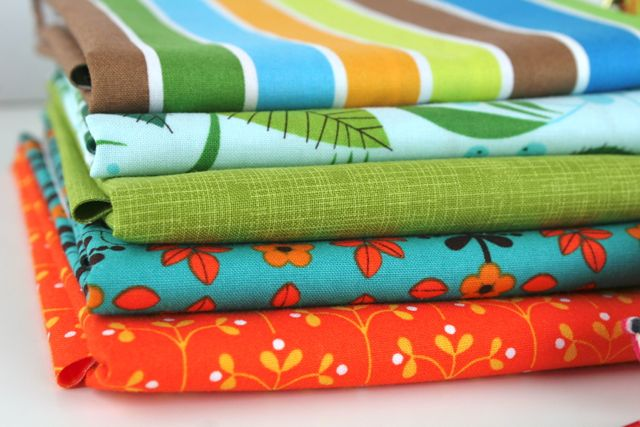 brights fabric stack