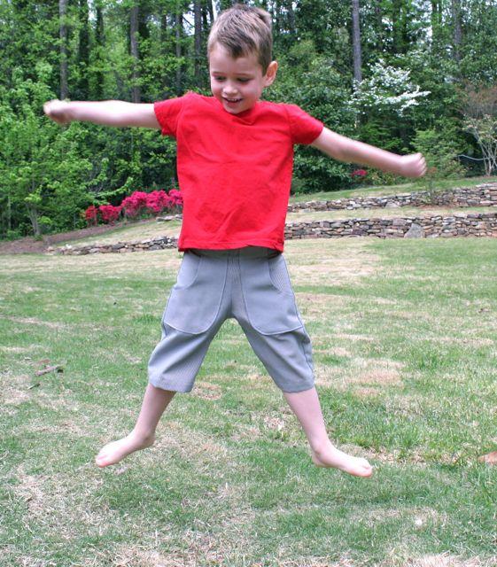 jumping shorts