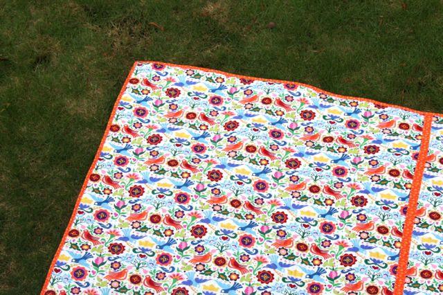 alexander henry print quilt back