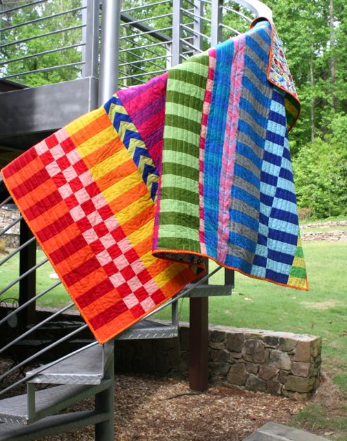 new favorite quilt | saturated colors by whipstitch