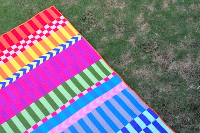saturated stripes binding
