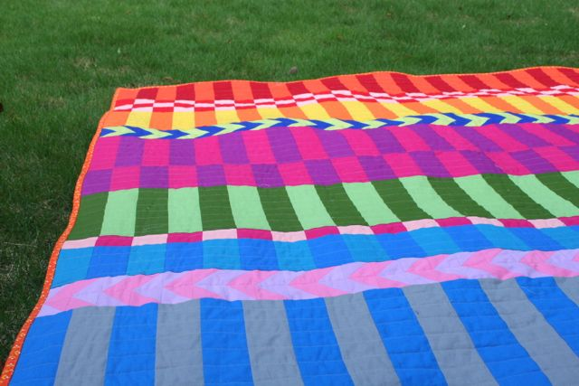 saturated stripes in cotton solids