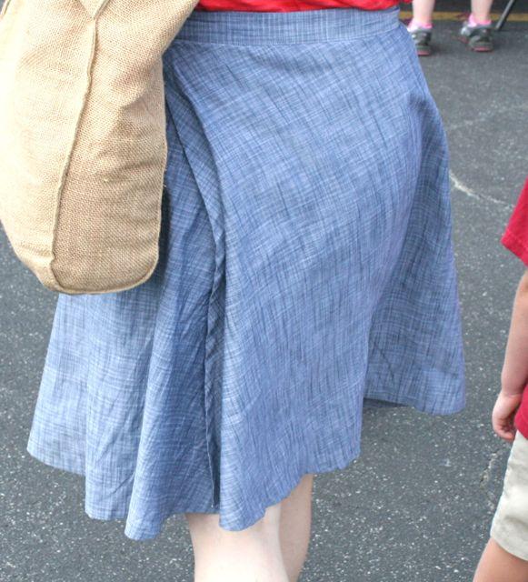 miette skirt back | whipstitch