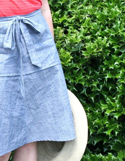 miette skirt pocket detail | Whipstitch blog