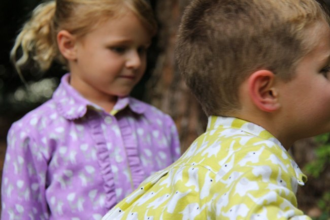 his and hers fanfare flannel shirts for fall