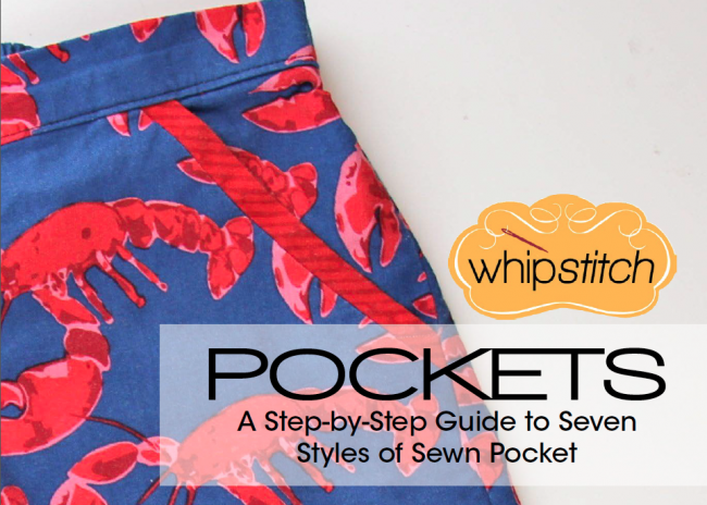 Whipstitch ebook guide to sewing pockets